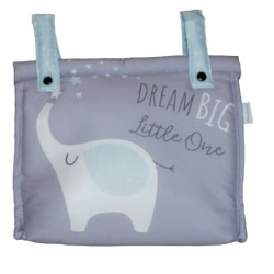 Bolso panera para silla paseo DREAM BIG impermeable y con bolsillo