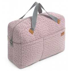 Bolso de maternidad con estampado de estrellas NIGHT STORIES rosa